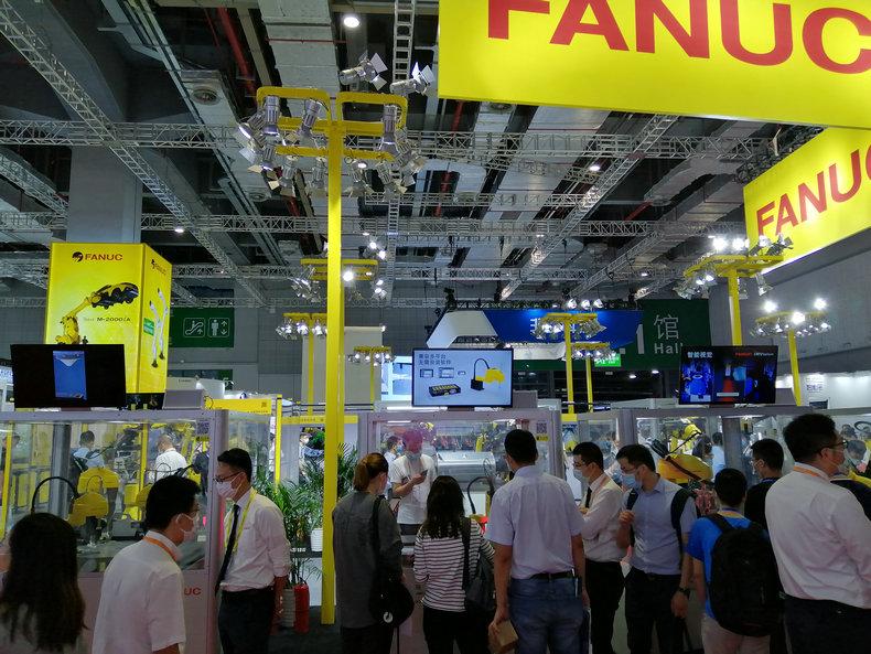 2021第23届中国国际工业博览会机器人展